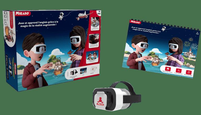 Apprentissage immersif avec la VR Virtual Reality via Mirabo